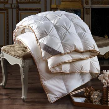 博洋家纺 羽绒冬被95白鹅绒被芯加厚保暖防羽面料单双人被子正品 法莱诺斯立体鹅绒被