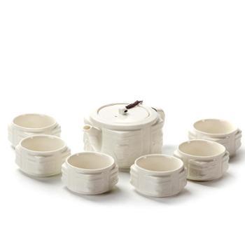 生活用品玉瓷功夫白瓷茶具套装精品陶瓷