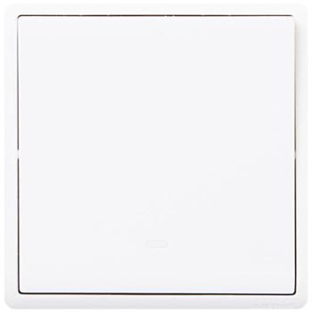 施耐德(Schneider)开关插座开关面板一开双控开关16A带荧光指示开关丰尚系列白色