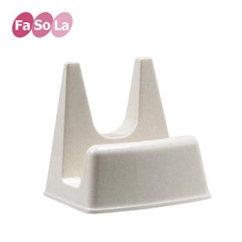 FaSoLa塑料锅盖砧板两用架锅盖架厨房锅盖座置物架