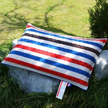 全棉荞麦枕可拆卸枕头全荞麦壳枕芯护颈枕炫彩硬枕(一个装)