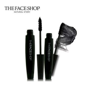 The Face Shop 大肚子黑杆睫毛膏两支 纤长浓密不晕染韩国正品
