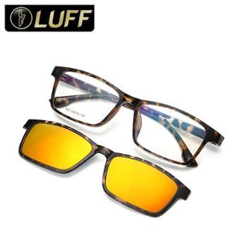 朗帆Luff复古潮流板材眼镜框近视偏光太阳镜驾驶镜吸磁夹片套镜男女墨镜司机镜803
