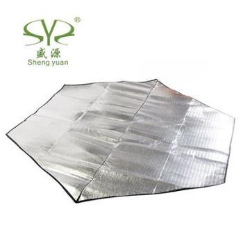 盛源户外防潮垫 多人铝箔六角帐篷垫子睡垫 地垫 0.27kg