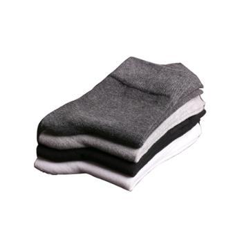 锋美6双装情侣款纯棉袜中筒袜袋装