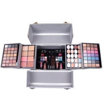 MISS ROSE 粉色手工化妆套盒化妆包化妆师专用 收缩彩妆盒