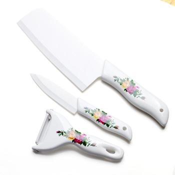 银海瓷业陶瓷刀具三件套