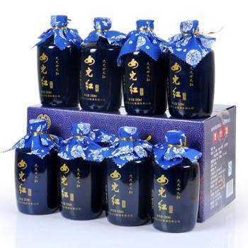 女儿红绍兴黄酒花雕酒原浆糯米酒500ml*8瓶整箱宝蓝