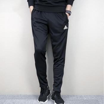Adidas阿迪达斯足球男子足球针织训练长裤黑BS0526