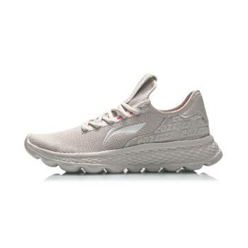 李宁男鞋运动跑鞋eaz透气软弹舒适鞋子运动休闲鞋AREQ003-1