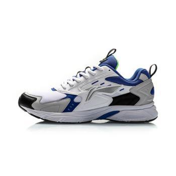 李宁运动男复古鞋子减震潮流耐磨防滑轻质柔软跑步鞋ARLQ005-2