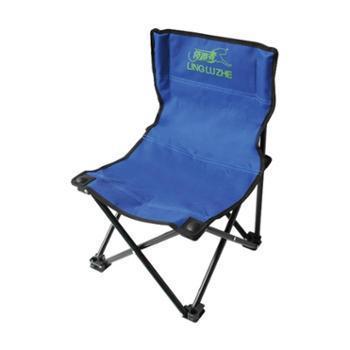 领路者钓鱼椅户外便于携带折叠椅子LZ-1510蓝色