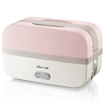 Bear/小熊电热饭盒DFH-B10J2可插电双层加热保温热饭带饭神器上班族小蒸煮饭锅煲