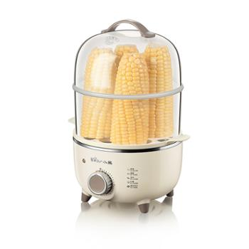 Bear/小熊煮蛋器ZDQ-B14R1双层迷你鸡蛋早餐煮蛋器机定时