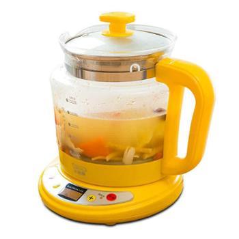 小浣熊养生壶加厚玻璃多功能药壶分体电煎药壶煮茶壶药壶茶壶烧水