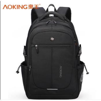 Aoking/奥王双肩包背包大号男学习办公出差用书包大容量电脑包旅行包箱包皮具