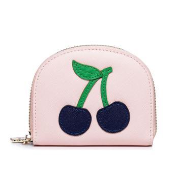 欧时纳2016新款时尚短款零钱包可爱水果钱夹休闲卡包手拿包070387-06