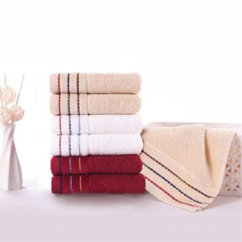 金号纯棉毛巾洗面巾柔软亲肤洁面巾(双条装)颜色随机发