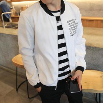 2017新款学生棒球衣服潮流男装衣服男士休闲韩版外套男生秋季夹克JC