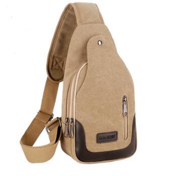 包包新款男士胸包帆布包斜挎包男包单肩包韩版小背包休闲腰包