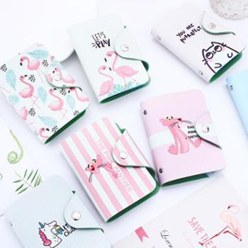 20卡位多卡位个性小卡包女卡片包韩国可爱日韩卡夹迷你卡通小清新