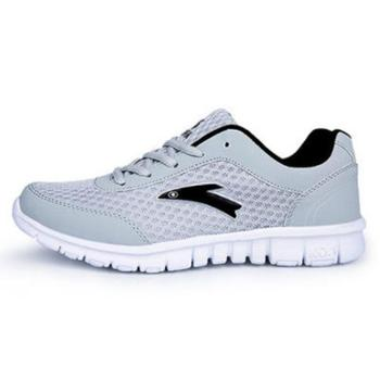 网面男鞋轻便软底透气耐磨鞋波鞋休闲鞋运动鞋学生鞋男跑步鞋