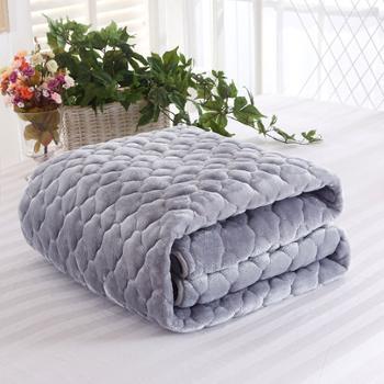 法莱绒床垫绒面加厚床褥可折叠多功能床护垫AHX