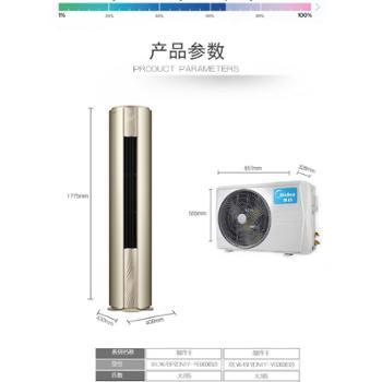 Midea/美的 KFR-51LW/BP2DN1Y-YB300(B2)变频空调制冷王大2匹柜机