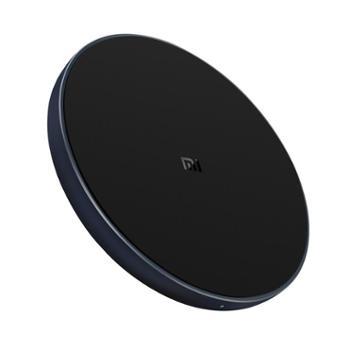 小米无线充电器(通用快充版)10WMAX无线手机快充苹果小米MIx2S三星S9通用快充轻巧便携黑色