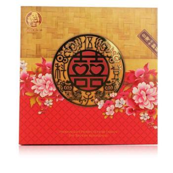 台式月饼美食传统糕点毛老爹喜饼五仁酥饼中秋月饼礼盒