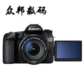 佳能/Canon EOS 70D 单反套机 EF-S 18-135mm 中级单反
