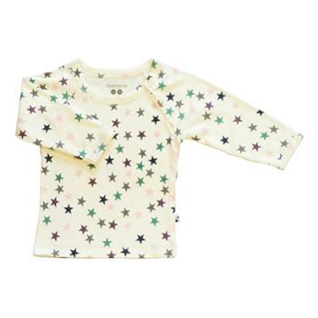 babysoy2016婴儿长袖上衣居家衣服宝宝打底衣保暖衣男童女童