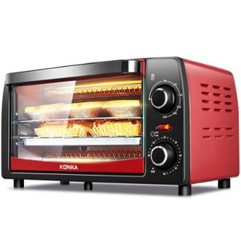 Konka/康佳KAO-1208电烤箱家用迷你烘焙多功能全自动小烤箱蛋糕