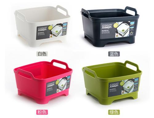 厨房洗菜篮果蔬清洗框塑料移动水槽沥水篮