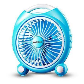 奥克斯电风扇台式鸿运扇迷你静音台扇学生宿舍小风扇家用电扇床头电风扇办公桌可放迷你解暑神器
