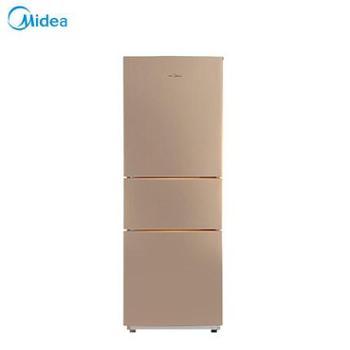 Midea/美的 BCD-213TM(E) 冰箱节能静音家用三门三温小冰箱电冰箱