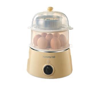 九阳迷你家用双层煮蛋器多功能自动断电小型定时鸡蛋蒸蛋器早餐机