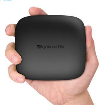 创维 T2网络电视机顶盒4K高清播放器家用无线wifi盒子