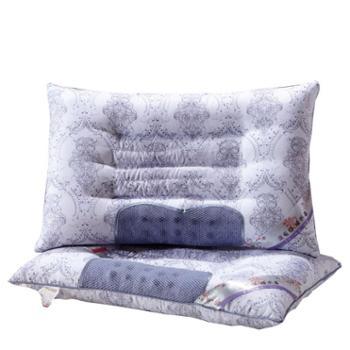 薰衣草枕头枕芯单人薰衣草护颈枕芯保健枕颈椎枕成人枕芯一对装