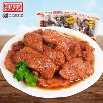 津津卤汁豆腐干苏州特产豆干素食小吃零食大包装360g*2