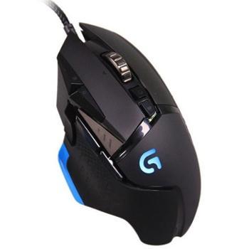Logitech罗技G502RGB有线游戏鼠标绝地求生吃鸡神器鼠标