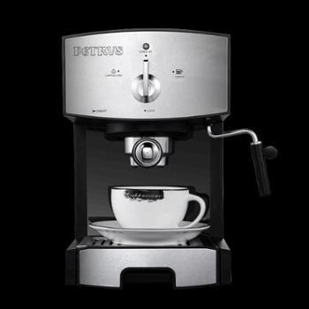 Petrus/柏翠PE3360咖啡机家用商用意式半全自动蒸汽式打奶泡