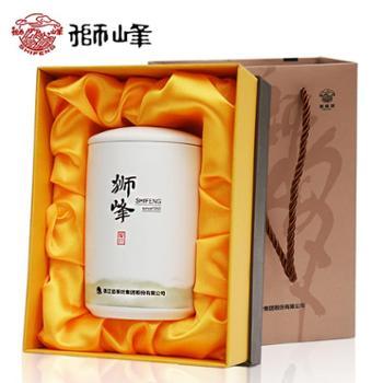 2019新茶 狮峰牌老茶树明前特级绿茶茶叶瓷罐西湖龙井礼盒装