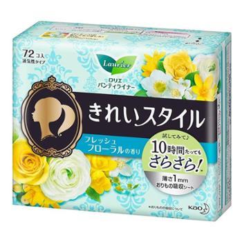 KAO花王护垫柔棉透气舒适72片多种香型