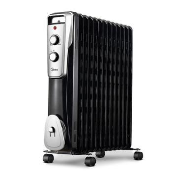 美的取暖器油汀家用节能暖风机电暖器电暖炉电暖气NY2513-16J1W