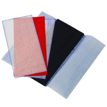 得力9370薄型复写纸(蓝)(18.5*8.5cm)-48K(100张/盒) 印蓝纸 财务专用蓝色复写纸