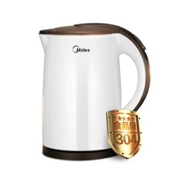 Midea/美的MK-TM1502电热水壶保温防烫电水壶烧水壶自动断电特价