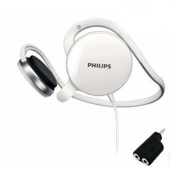 Philips/飞利浦 SHM6110U后挂式电脑耳机耳麦 挂耳式带麦克风语言