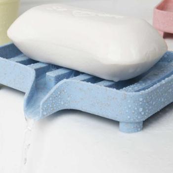 创意浴室塑料香皂盒简约沥水肥皂盒卫生巾皂托皂碟香皂架香皂托