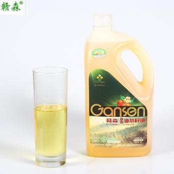 赣森原香有机油茶籽油 2L装磨砂